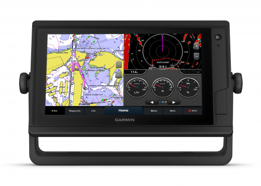 "The intuitive GPSMAP 922 Plus chartplotter, with its extremely bright display, is easy to read even in sunlight. Its 9"" touchscreen is perfect for displaying charts, easy to operate and seamlessly integrates into your Garmin marine system. (Imagen 3 de 7)"