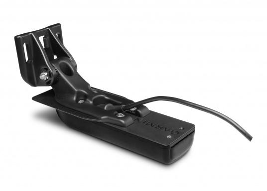 """Der Kartenplotter ECHOMAP 62cv UHDinkl. GT24-UHD-TM-Geberist auch bei Sonneneinstrahlung gut lesbar. Ausgestattet mit einem 6"""" Touchscreen und einem Haltebügel mit Schnellentriegelung. Der im Lieferumfang enthaltene Geber liefert per Ultra-HD ClearVü ein gestochen scharfes Bild sowie traditionelle High-Wide CHIRP Echolotbilder mit weiteren detailgenauen Unterwasserstrukturen. (Bild 8 von 12)"""
