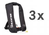 Life Jacket GO / manual / 150 N / set of 3