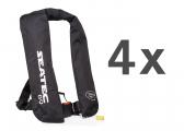 Life Jacket GO / manual / 150 N / set of 4