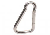 Stainless Steel Carabiner Hook / asymmetrical