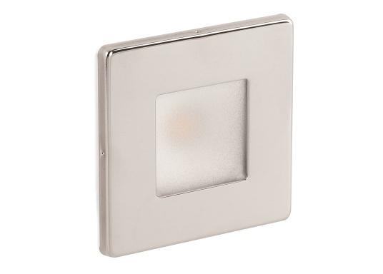 Die LED-EinbauleuchteTHABIT Q inklusive Touchschalterist dank ihrem modernen Design ein richtiger Hingucker. Sie sieht nicht nur schick aus, sondern erzeugt auch mit ihrer warmweißen Lichtfarbe eine angenehme Atmosphäre. Ebenfalls bietet diese spezielle Leuchte eine einfache Montage sowie ein robustes Gehäuse aus Edelstahl.