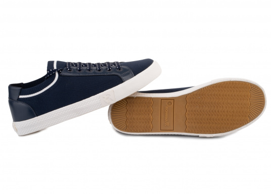 Die leichteste Art, bequem zu gehen. Der super trendige und innovative Damen Sneaker SWAN bietet neben hohem Tragekomfort auch einen sicheren Stand. Ausgestattet mit einer Laufsohle aus Gummi und Stretchmaterial. (Bild 3 von 4)