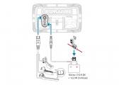 HOOK REVEAL 5 with SplitShot Transom Transducer