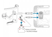 HOOK REVEAL 7 with 50/200 kHz Transom Transducer