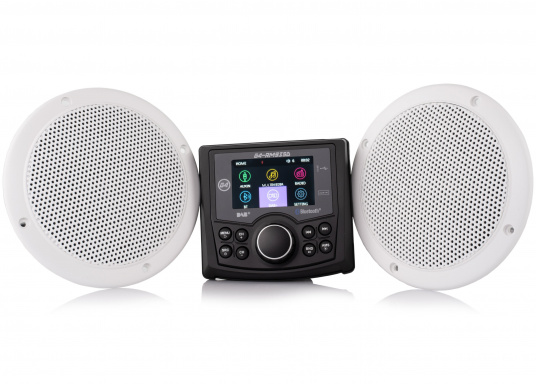 The G4-RM935D DAB+ radio from GUSSI provides limitless entertainment on board, combining high-quality design and intuitive operation together.The integrated DAB/DAB+ receiver gives you easy access to digital radio stations with perfect sound. (Image 2 of 14)