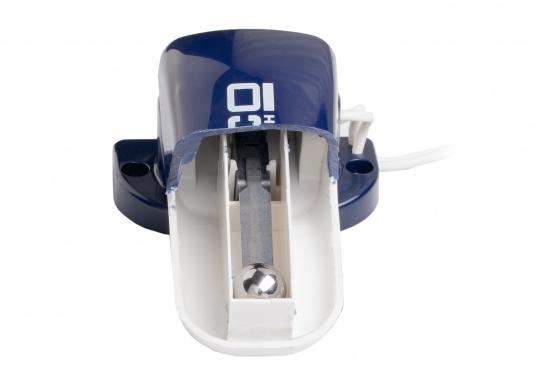 Automatischer Schwimmerschalter zur Überwachung ihrer Bilgenpumpen.Einfache Installation durch kompakte Bauform.Schaltleistung: 12/24 Vol, bis 10 Ampere.  (Bild 5 von 5)