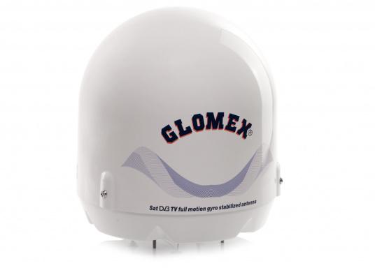 Verpassen Sie nie wieder Ihre Lieblingssendung oder ein wichtiges Sportevent im Fernsehen! Die vollautomatische und selbstnachführende Marine Satelliten TV-Antenne von Glomex macht es möglich.
