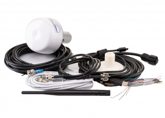 Der Class B AIS-Sender/Empfänger easyTRX3 von Weatherdock überzeugt mit neusten Innovationen: 5 W Sendeleistung, schnellere Übertragungsrate der AIS Protokolle und SOTDMA-Technologie. Der AIS-Transceiver besteht aus einem robusten, kompakten und wasserdichten Gehäuse und gewährleistet, dass permanent parallel auf beiden AIS-Frequenzen gesendet und empfangen wird. Das Gerät verfügt über einen integrierten Splitter, einer integrierten GPS- und WiFi-Antenne, ein DVBT-Modul und DAB-Empfänger. (Bild 7 von 7)