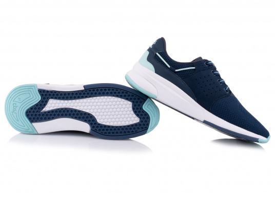Der Flyknit Schuh CLADELL aus hochwertigem Textil-Material von tbs überzeugt mit sportlichen Form, schickem Design und hohem Tragekomfort. Die Vierpunkt-Schnürung und die stabilen Seiten sorgen für einen festen Stand. (Bild 7 von 7)
