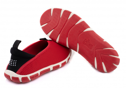 Ein absoluter Klasisker von tbs! Der Damen-Slipper JEFFERS besteht aus hochwertigem Textil-Material und verfügt über eine klappbare Rückseite. Dank der Schlaufen ist der Schuh schnell und einfach an- und ausgezogen. (Bild 7 von 7)