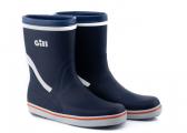 Short Yachting Boots / dark blue