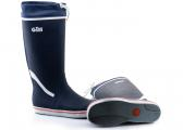 Long Yachting Boots / dark blue