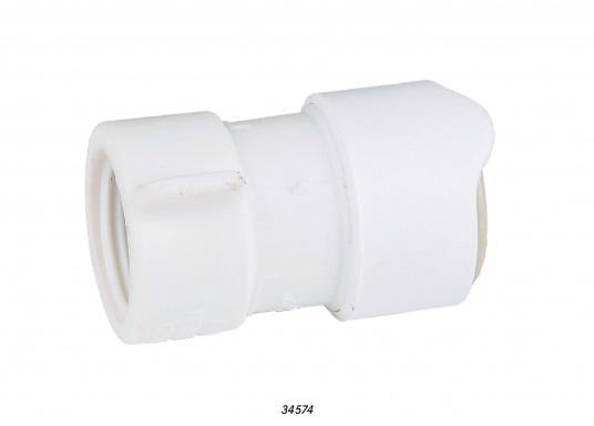 """Adapter fürs Connect Rohrleitungssystem auf 1/2"""" innen. Besonders zuverlässiges Rohrleitungssystem, speziell geeignet für den Einsatz an Bord! Schnelle Installation: Dank vorgegebener Schnittmarken ist ein Ablängen der Rohre ganz einfach möglich."""