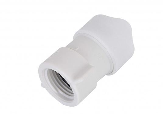 """Adapter fürs Connect Rohrleitungssystem auf 1/2"""" innen. Besonders zuverlässiges Rohrleitungssystem, speziell geeignet für den Einsatz an Bord! Schnelle Installation: Dank vorgegebener Schnittmarken ist ein Ablängen der Rohre ganz einfach möglich.  (Bild 2 von 3)"""