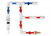 Connect Plumbing System / adapter 1/2 inch hose