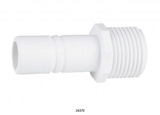 """Kernverbinder fürs Connect Rohrleitungssystem 1/2"""" außen. Besonders zuverlässiges Rohrleitungssystem, speziell geeignet für den Einsatz an Bord! Schnelle Installation: Dank vorgegebener Schnittmarken ist ein Ablängen der Rohre ganz einfach möglich."""