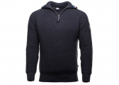 Afbeelding van TONI Men's Half-Zip Sweater / navy
