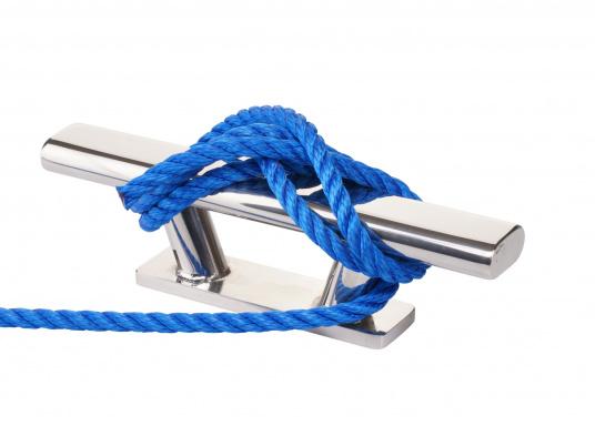 Das Leichtgewicht! Die schwimmfähige Leine eignet sich besonders gut für den Einsatz als Schleppleine.3-schäftig gedrehte Ausführung aus Polypropylen.