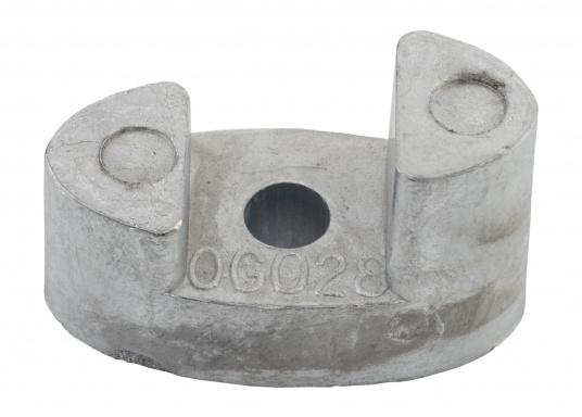 Anodo di zinco per propulsore di prua Vetus BOW23A / BOW50. Codice pezzo di ricambio originale Vetus: SET0153 / BP129.