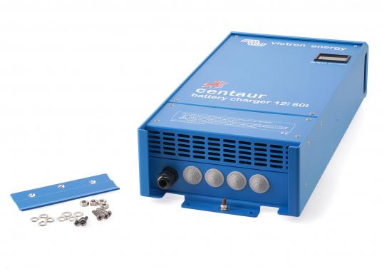 Ein Ladegerät, das überall in der Welt eingesetzt werden kann! Das hochwertige Centaur-Batterieladegerät verfügt über eine Dreistufen-Ladekennlinie sowie eine universelle Aufnahmeleistung und kann bis zu drei separate Batterien gleichzeitig laden. Geeignet für eine Batteriekapazität zwischen 200 und 500 Ah. Ladestrom 50 A. (Bild 5 von 5)