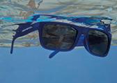 Sonnenbrille CLASSIC / blau