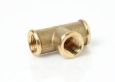 T-Piece, Brass CR