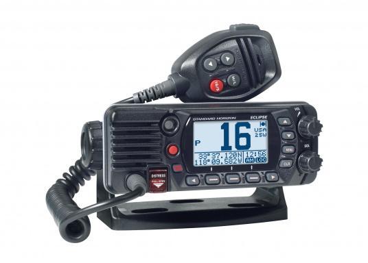 Radio VHF marina molto compatta, con DSC di classe D, un display molto ampio, antenna GPS integrata e l'interfaccia NMEA 0183 che permette la facile integrazione alla rete di bordo esistente. GX1400G offre prestazioni affidabili e assicura facilità d'uso.