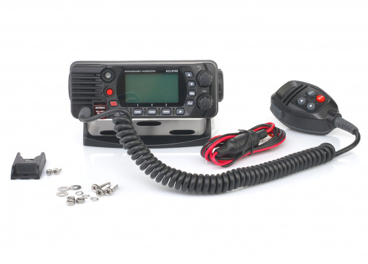 Compact VHF marine radio with Class D DSC, large display, integrated GPS antenna and NMEA 0183 interface for quick integration into an existing network. The GX1400G offers reliable performance and easy operation. (Image 7 of 7)