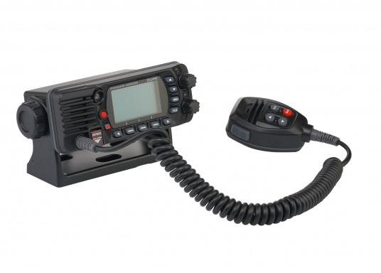 Compact VHF marine radio with Class D DSC, large display, integrated GPS antenna and NMEA 0183 interface for quick integration into an existing network. The GX1400G offers reliable performance and easy operation. (Image 5 of 7)