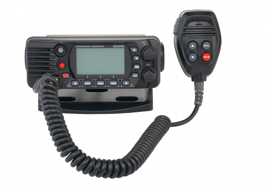 Compact VHF marine radio with Class D DSC, large display, integrated GPS antenna and NMEA 0183 interface for quick integration into an existing network. The GX1400G offers reliable performance and easy operation. (Image 4 of 7)