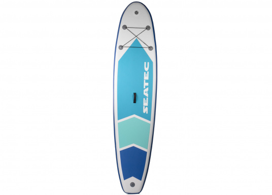 Top model in the middle range featuring an exclusive design. The iSUP 89 from SEATEC is great fun for young and old, beginners and advanced users. Length: 3.3 m, width: 75 cm. Load capacity: approx. 140 kg.