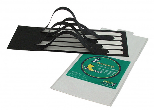 Diese vorgestanzten Antirutsch-Streifen sorgen auf Deck für den richtigen Grip.  (Bild 2 von 3)