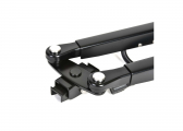 W38 Parallel Wiper Arm / stainless steel, black