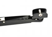 Bras d'essuie-glace W25 / W38 réglable / inox / noir