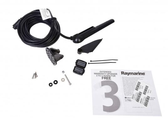 """Smartes 7""""-Multifunktionsdisplay mit, integrierter GPS-Antenne und eingebauten Sonarmodul.Auf einen Touchscreen wurde bei diesem Raymarine Plotter bewusst verzichtet, da die klassische Tastenbedienung in Verbindung mit der Raymarine LightHouse Sport Oberfläche auch bei schnellen Fahrten und starken Seegang für eine intuitive und präzise Bedienung des Gerätes sorgt.Dank des CPT-100 DVS Gebers finden Sie mittels der DownVision und CHIRP Ansicht im Handumdrehen. (Bild 7 von 7)"""