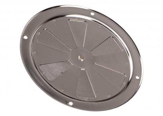 Korrosionsbeständige Lüftungsrosette aus Edelstahl mit einem Durchmesser von 125 mm. (Bild 7 von 7)
