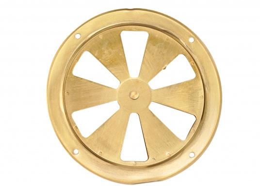 Qualitative Lüftungsrosette aus Messing, poliert mit einem Durchmesser von 125 mm. (Bild 3 von 3)