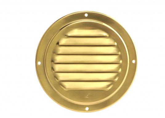 Qualitatives Lüftungsblech aus Messing, poliert mit einem Durchmesser von 125 mm.