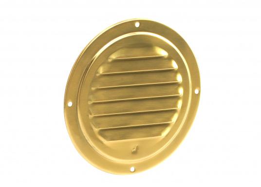Qualitatives Lüftungsblech aus Messing, poliert mit einem Durchmesser von 125 mm. (Bild 2 von 2)