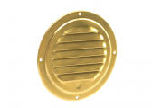 Brass Louvred Ventilator / 125mm