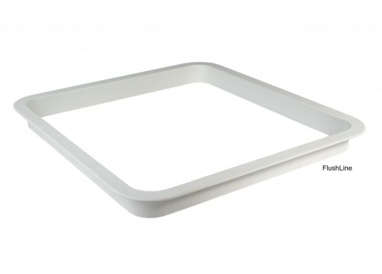 Passender Innen-Einbaurahmen für gebo FlushLine-Luke(aus weißem Kunststoff).