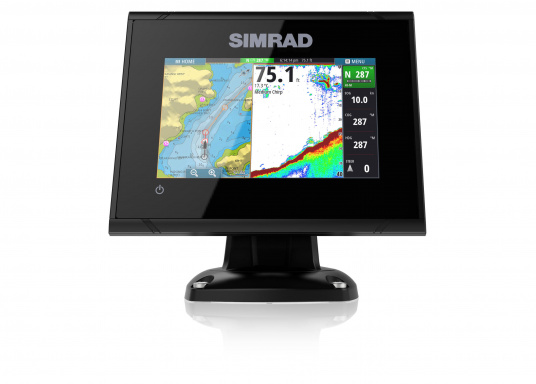 5-inch chartplotter with multi-touch, pinch-to-zoom, NMEA2000 support and integrated WiFi. Features a high-speed 10 kHz GPS receiver that updates your position 10 times per second, ideal for fast boats. 