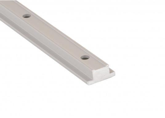 Mehr Sicherheit an Bord! T-Schienen für extreme Belastung, hergestellt aus silber eloxiertem Aluminium. Auch gebogen erhältlich.  (Bild 3 von 4)