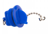 Cap for WATER Tank Filler Neck / blue