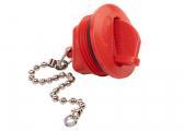Cap for FUEL Tank Filler Neck / red