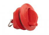 Cap for FUEL Tank Filler Neck / red