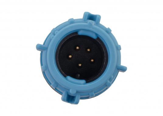 Der SeaTalkNG-Adapter verbindet Spur- und Backbonekabel und verfügt über einen integrierten Endwiderstand. (Bild 3 von 3)