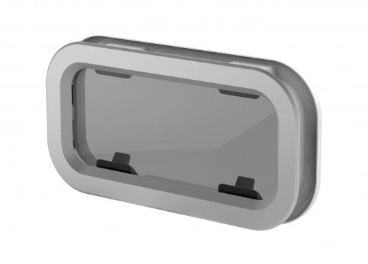 Design elegante  Ampia superficie vetrata  Facilità d'uso e di installazione  Apribile  Fornito con zanzariera