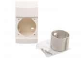 ​INTEGRO FLOW Surface Mounting Box Assembly Set / polar white, glossy